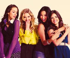 Pretty Little Liars, I will shamelessly admit that i've watched this show religiously for over a year.
