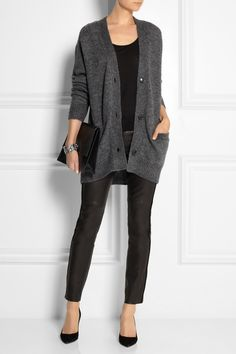 Étoile Isabel Marant | Rider oversized knitted cardigan | NET-A-PORTER.COM