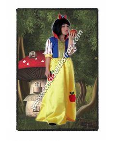 Disfraz de Princesa de los Enanitos para niñas. #Disfraces #Carnaval www.casadeldisfraz.com Princesas Disney, Disney Characters, Fictional Characters, Snow White, Disney Princess, Children Costumes, Fantasy Characters, Disney Princes
