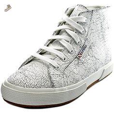Superga Women's 2095 Crackedleaw Fashion Sneaker, White, 41.5 EU/9.5 M US - Superga sneakers for women (*Amazon Partner-Link)