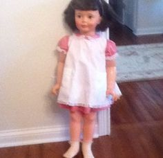 Patty Play Pal doll-my favorite doll.  I wanted one with the straight hair.  What I got - the curly hair to match mine.
