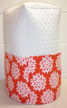 Check out this item in my Etsy shop https://www.etsy.com/listing/188643638/white-orange-quilted-starburst-cover-for