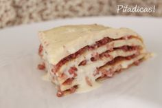 Crepes with Cheese and Sausage - Crepes com Queijos e Calabresa