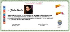 TESORO. Yadira Escobar. Activismo social