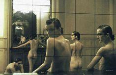DEBORAH TURBEVILLE Five Girls in a Room in Pigalle, Paris, Vogue Italia (1982)