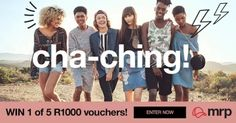 Mr Price: Win 1 of 5 R1000 Vouchers - Enter Now