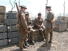 As an English soldier fights in the horrific trenches of northern France, he is haunted by the memories of his forbidden love affair with a French woman. British Soldier, British Army, Robert Baden Powell, Army Uniform, World War One, Military History, The Twenties, United Kingdom, Military Jacket