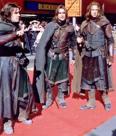 LOTR, their costumes look amazing! I love cosplay.