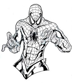 7 Best Spiderman Coloring Images Spiderman Coloring
