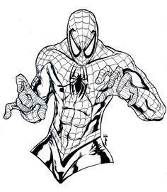 spiderman coloring