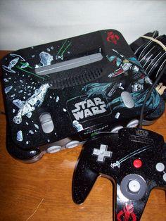 """Custom Nintendo 64 Console"" bymbtaylorproductions"
