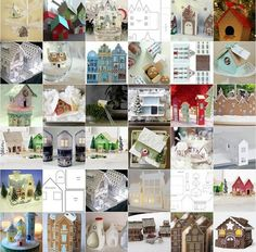 There's something ever so precious about wee little houses, isn't there? Here is a round-up of a just few really cute house tutorials, t...