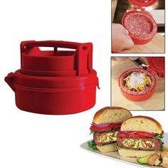 Hamburger Burger Press Machine Meat Pizza Stuffed Patty Maker Kitchen Cooking Tools