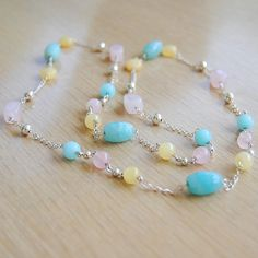 Summer Stone Necklace