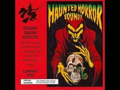 """Haunted Horror Sounds """"Spooky Sound Effects"""" Halloween Party Ready CD Excellent Halloween Sounds, Halloween Music, Spooky Halloween, Halloween Party, Horror Sounds, Scary Sounds, Fiction Film, Horror Fiction, Sound Effects"""