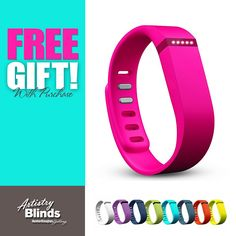 Receive your FREE  fitbit® GIFT when you purchase a minimum of TWO Powerview Motorization blinds at 1 of our 3 Locations! http://www.artistryblinds.com/powerview/!
