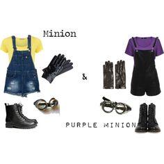 Despicable Me 2 Minion & Purple Minion