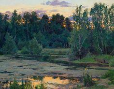 Станислав Брусилов|Пейзажи художника