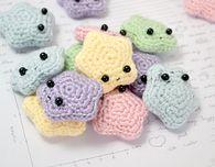 Amigurumi Stars - Free Crochet Pattern
