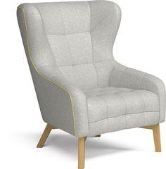 Tuck In stolen er et ægte moderne designikon, der samtidig er blød og behagelig at sidde i. Stolen er traditionelt dansk møbelhåndværk i en moderne, opdateret version med stof i to nuancer og farvet lynlås. Lænestolen, der både er sin egen - og helt og aldeles din.
