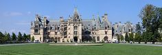 Biltmore Estate - Biltmore Estate is a large private estate and tourist attraction in Asheville, North Carolina. Biltmore House, the main house on the estate, is a Châteauesque-styled mansion built by George Washington Vanderbilt II between 1889 and 1895 and is the largest privately owned house in the United States,
