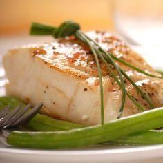 Pan-Fried Alaskan Cod is easy to make and deliciously healthy.