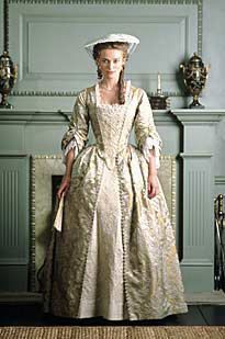 Elizabeth Swann's Gold Gown from Pirates of the Caribbean: Curse of the Black Pearl (complete)