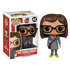 Funko Pop! Big Bang Theory Amy Farrah Fowler Vinyl Figure