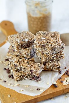 Totally Nuts Sticky Protein Bars | by Sonia! The Healthy Foodie