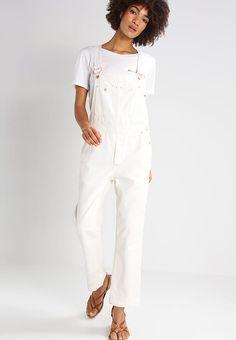 Free People Latzhose - white für 99,95 € (25.02.17) versandkostenfrei bei Zalando bestellen.