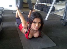Sherlyn Chopra turns hot fitness instructer