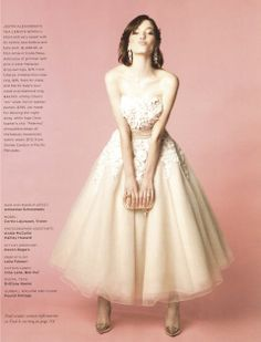So Lovely! @California Wedding Day's Spring Summer 2014 issue feat. the Inge Christopher PALERMO Clutch in Ivory