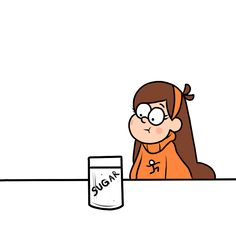 Mabel and sugar< is no one going to point out the sugar crash pun? Dipper Pines, Dipper E Mabel, Mabel Pines, Gravity Falls Funny, Gravity Falls Fan Art, Gravity Falls Comics, Gravity Falls Dipper, Monster Falls, Desenhos Gravity Falls
