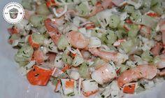 Fitness Garnelen Salat