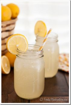 Ginger Lemonade: The perfect balance of sweet and tart – with a spicy punch from the ginger. The ultimate refreshing summer drink!