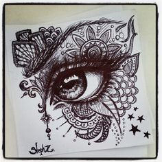 My weekly early morning #ballpointpen #doodle.