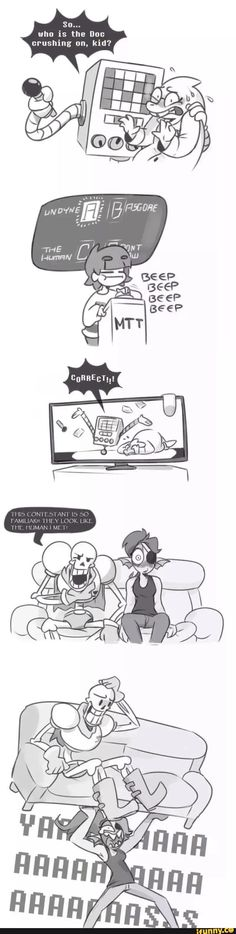 And that, ladies and gentlemen, is how Undyne found out. undertale, mettaton, undyne, alphys
