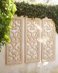 Shop Moroccan Garden Stool at Horchow, where you'll find new lower shipping on hundreds of home furnishings and gifts. Outdoor Wall Art, Outdoor Walls, Outdoor Decor, Outdoor Living, Panel Wall Art, Diy Wall Art, Wall Décor, Moroccan Garden, Garden Wall Art