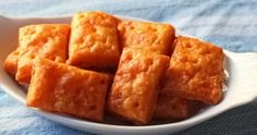 Food Wishes Video Recipes: Cheesy Crackers – The Simple Joy of Homemade Crackers