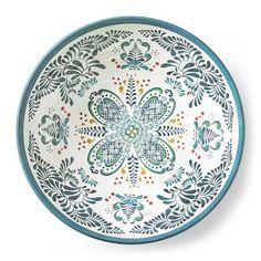 Veracruz Blue Melamine Serving Bowl #williamssonoma