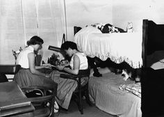 Womens dormitory, circa 1959 (Planting Fields, Oyster Bay, NY/Stony Brook University)