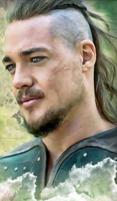 Uhtred Of Bebbanburg, Alexander Dreymon, The Last Kingdom, Photo Reference, Beautiful Men, Qoutes, Traditional, Face, People