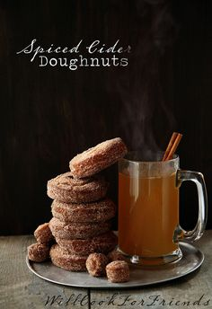 Apple Cider Doughnuts – bringing the cider mill home | Will Cook For Friends