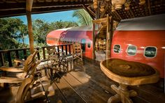 Bucket List:  love to stay in unique places!  Costa Verde Resort 727 Fuselage Home!