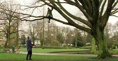 Julianapark 2011, opnames van de film Minous met Carice van Houten en Theo Maassen