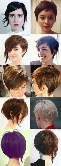 asymmetrical bob hair short