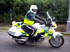 First Emergency Responder Motorcycle in Dublin (Beaumont Hospital)