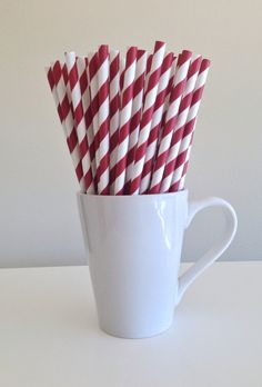 Hey, I found this really awesome Etsy listing at https://www.etsy.com/listing/188216053/paper-straws-dark-red-maroon-burgundy