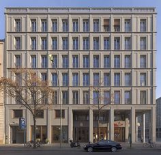 Hans Kollhoff, Housing and Commercial Building, Berlin, 2001