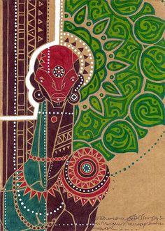 ogum | by Henrique Vieira - ilustrações, estudos e esboço